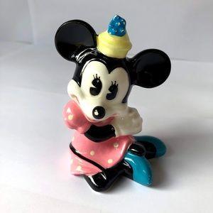 Vintage Ceramic Minnie Figurine Walt Disney Japan